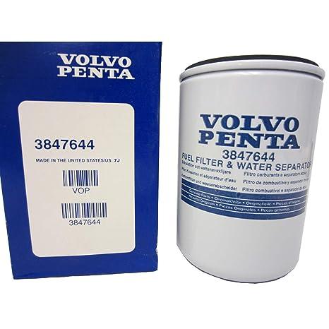 OEM Volvo Penta Marine Engine Fuel Filter Water Separator 3847644