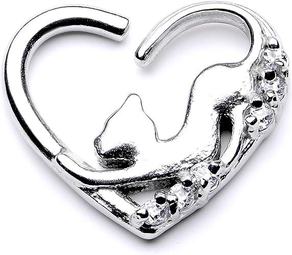 Amazon Com Body Candy 10mm Body Piercing Jewelry Stainless Steel