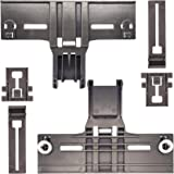 /& W10195839 2pc 2pc W10195840 2pc Dishwasher Top Rack Adjuster W10350376 Dishwasher Positioner for Kitchenaid Kenmore Whirlpool Dishwasher Upper Rack Parts Replacement Replace W10350374 W10712394VP