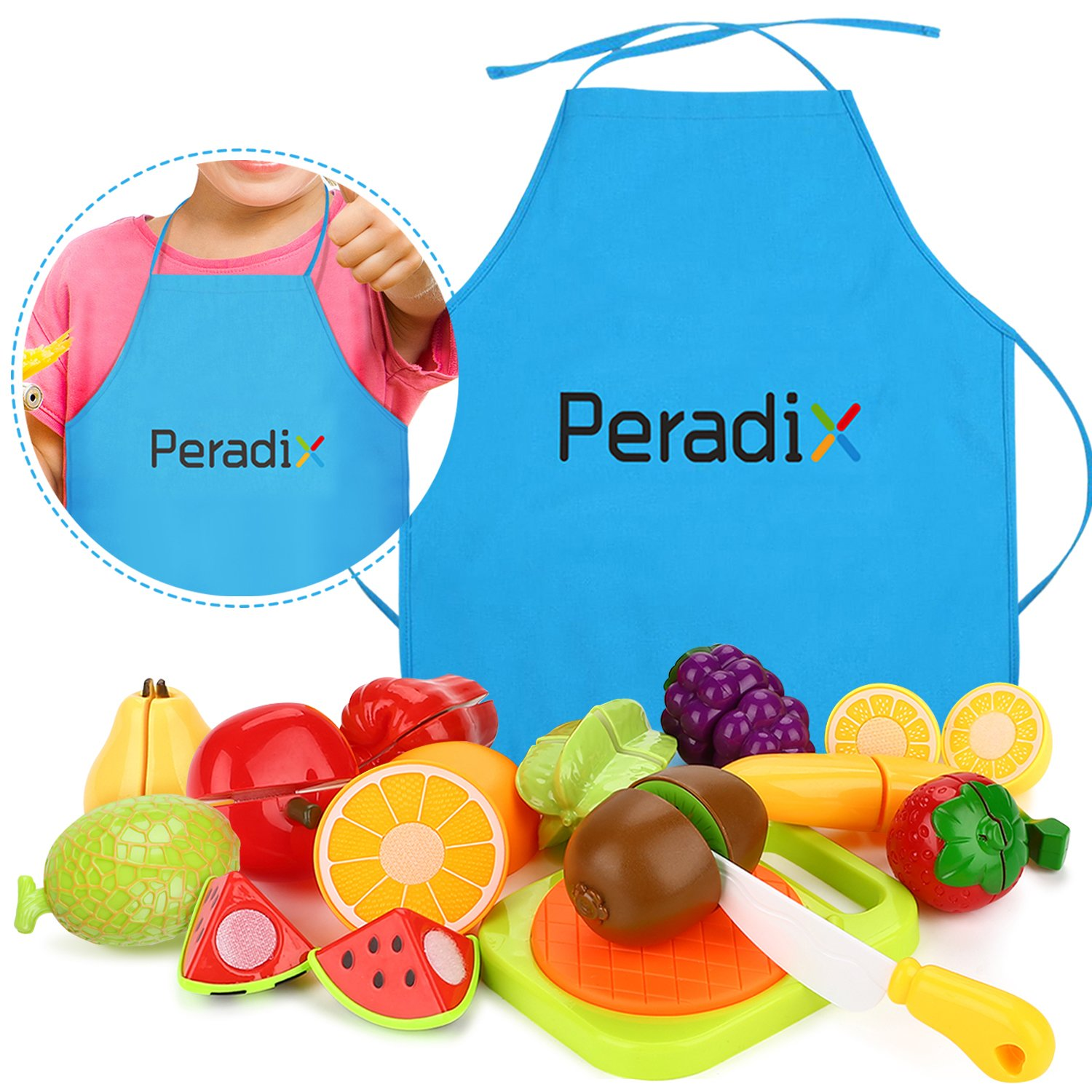 outlet Play Food Set for Kids & Cutting Fruit Set Toy Food for ...