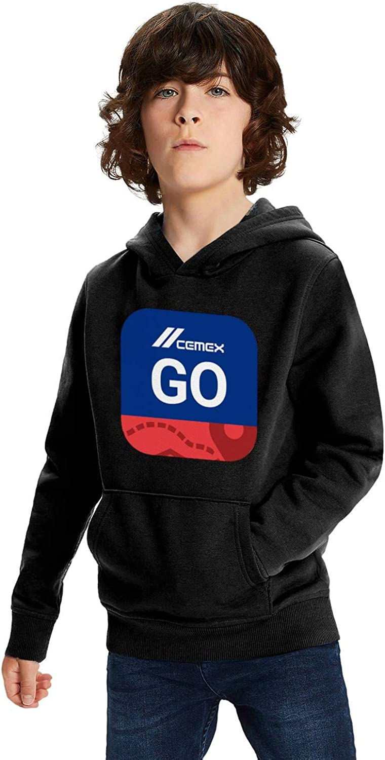 PANZHIHUA Kids Pullover Hoodie Oversized Plus Velvet Lined Awesome Hoody Sweatshirt for Teen Girls Boys