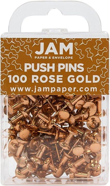 100//Confezione Puntine Nere JAM PAPER Puntine Colorate