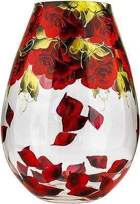Amazon Com Kosta Boda Tattoo Vase Home Amp Kitchen