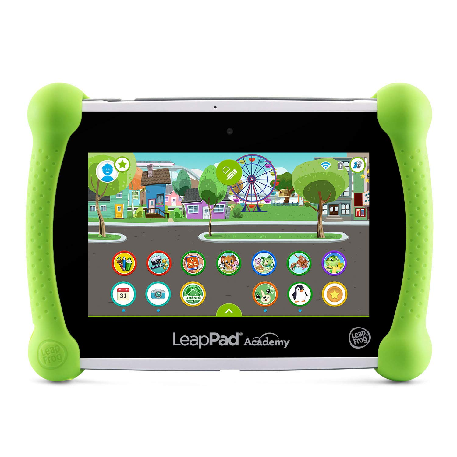 LeapFrog LeapPad Academy Kids' Learning Tablet, Green by LeapFrog (Image #1)