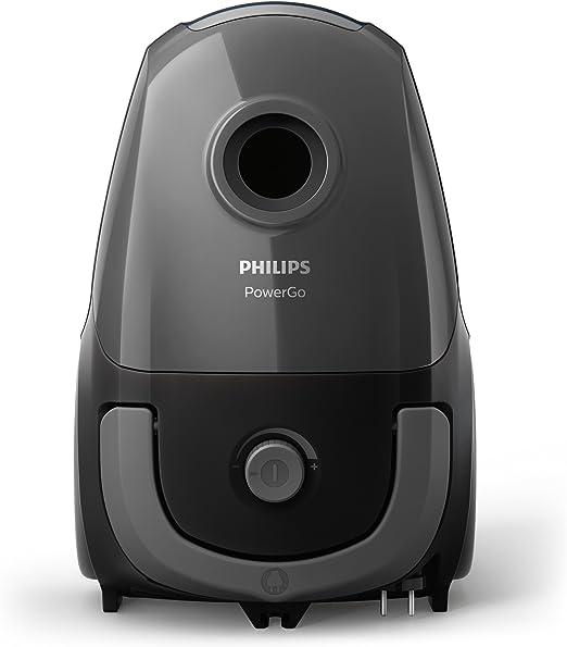 Philips PowerPro FC8244/09 - Aspirador con sistema con Bolsa, Deposito 3 L, Filtro Antialergias, Facil de Limpiar: Philips: Amazon.es: Hogar