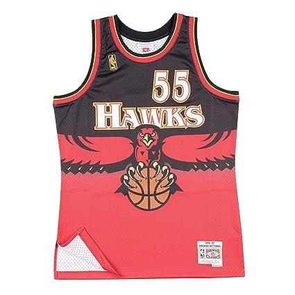 timeless design 1ea23 3cc86 Amazon.com : Outerstuff Dikembe Mutombo Atlanta Hawks ...