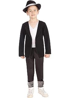 Bristol Novelties - Disfraz infantil de Michael Jackson, talla 8 ...
