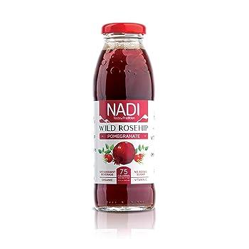 NADI Organic Wild Rosehip Pomegranate Juice