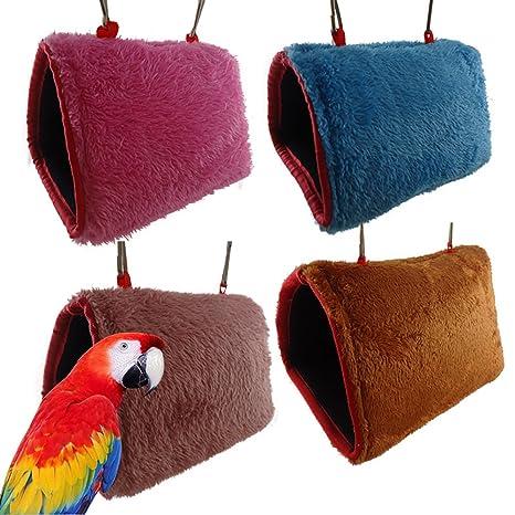 Catkoo Accesorios para pájaros, hámster Loro, Conejo, Hamaca para ...