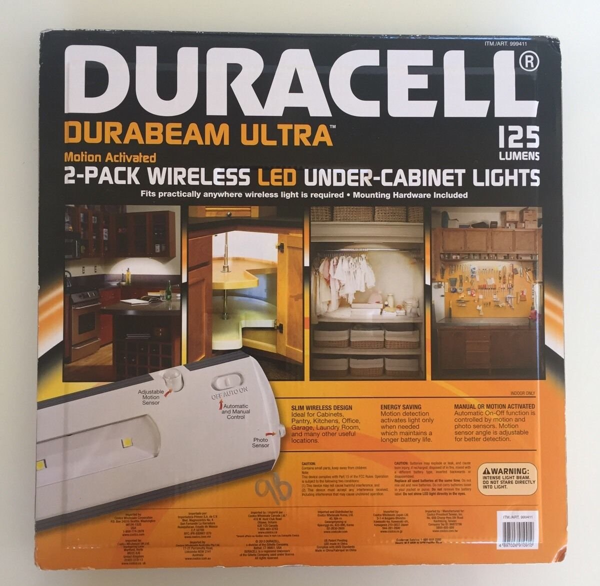 Merveilleux Duracell LED Under Cabinet Light, 2 Pack, Under Cabinet Lights   Amazon  Canada