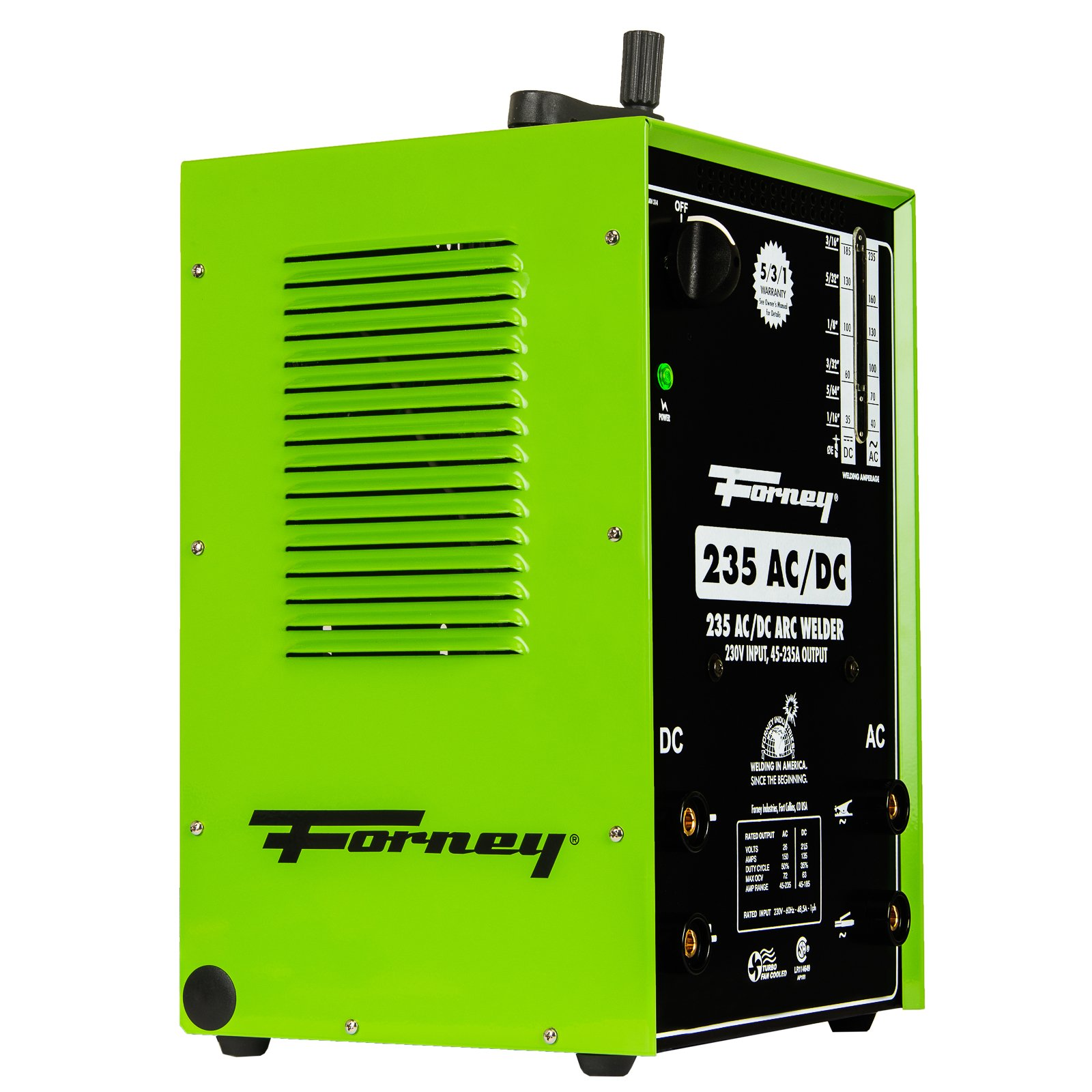 Forney 314 Arc Welder 235FI AC DC, 230-Volt, 230-Amp by Forney (Image #6)