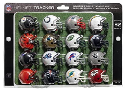 11bc7da4 Amazon.com : NFL Pro Football Helmet Playoff Tracker : Sports & Outdoors