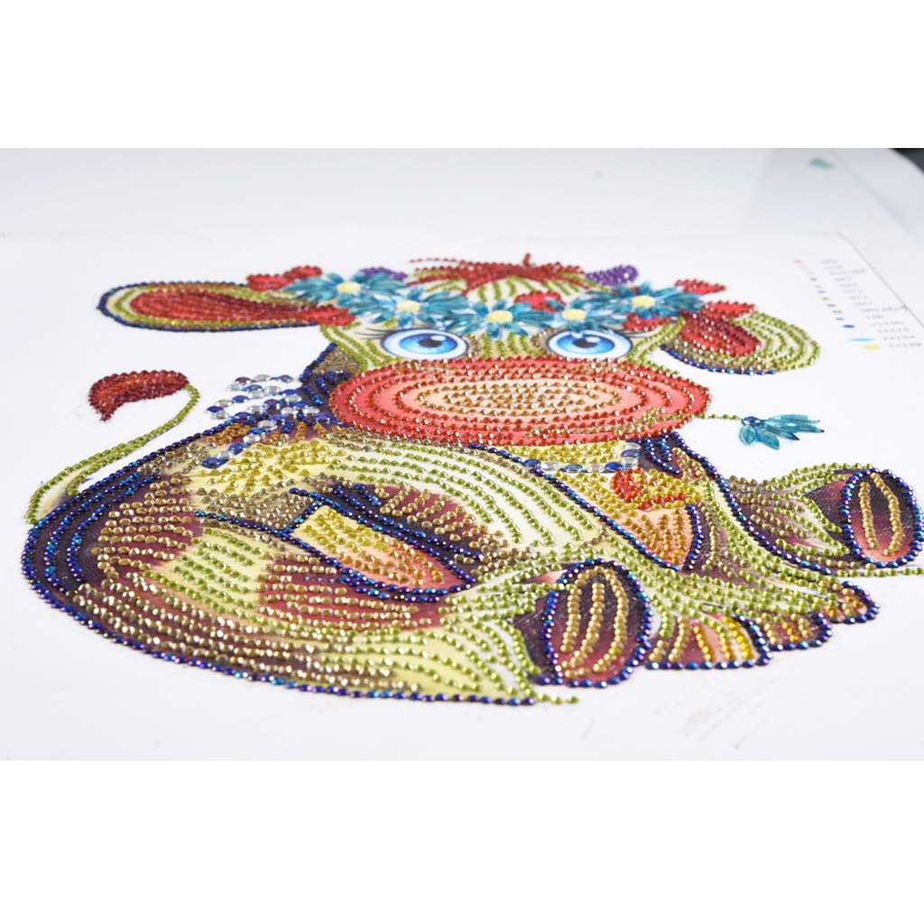 Tuu Special Shaped Diamond Painting DIY 5D Partial Drill Cross Stitch Kits (A)