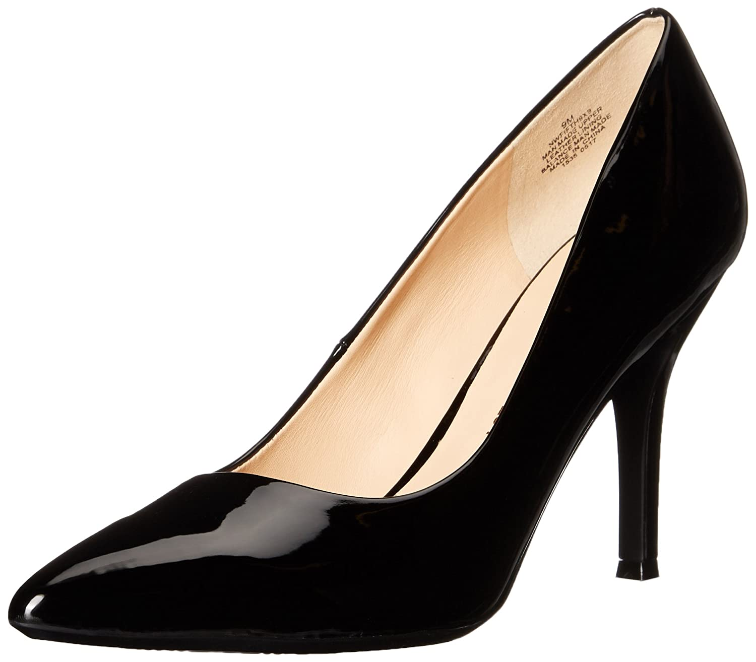 Nine West Women's FIFTH9X Fifth Pointy Toe Pumps B01MSUKFAF 10 B(M) US|Black Synthetic