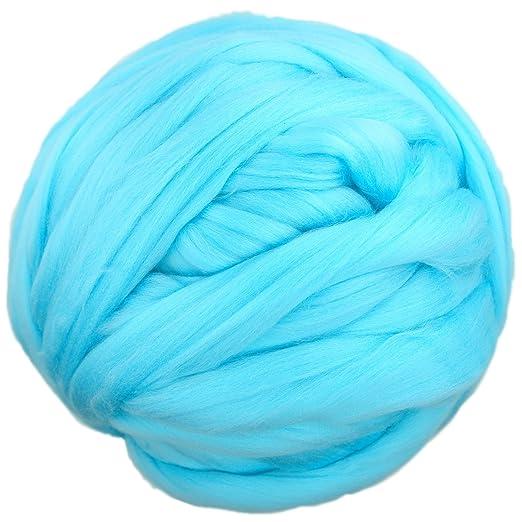 charmkey grasos Super Chunky lana itinerantes Natural suave ...