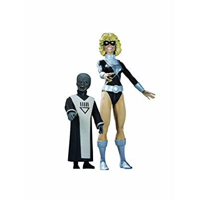 DC Direct Blackest Night: Series 7: Black Lantern Terra with Scar Action Figure: Toys & Games