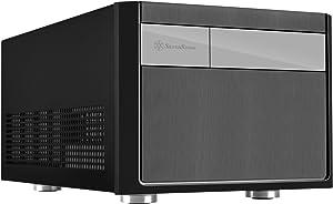Silverstone Tek Micro-ATX, Mini-DTX, Mini-ITX Small Form Factor Computer Case, Compatible with ATX PSU Cases SG11B
