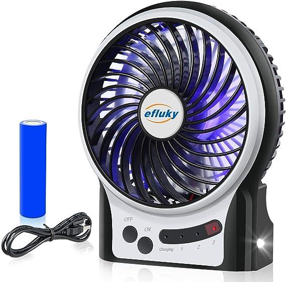 Mini Portable USB Rechargeable Handheld Fan Desk Cooling Fan F6X4