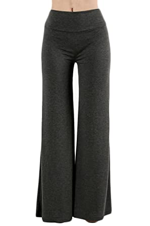 f626d54b3d9 TOP LEGGING TL Women s Versatile Comfy Wide Leg Long Maternity Palazzo  Gaucho Lounge 79P Charcoal S