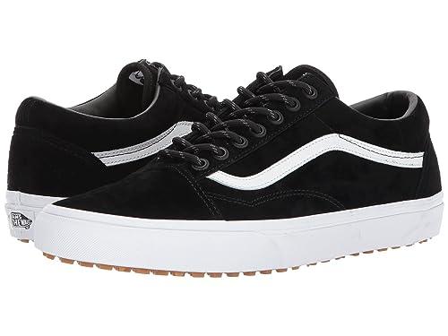 Vans Old Skool MTE BlackTrue White Men's Classic Skate Shoes Size 11.5