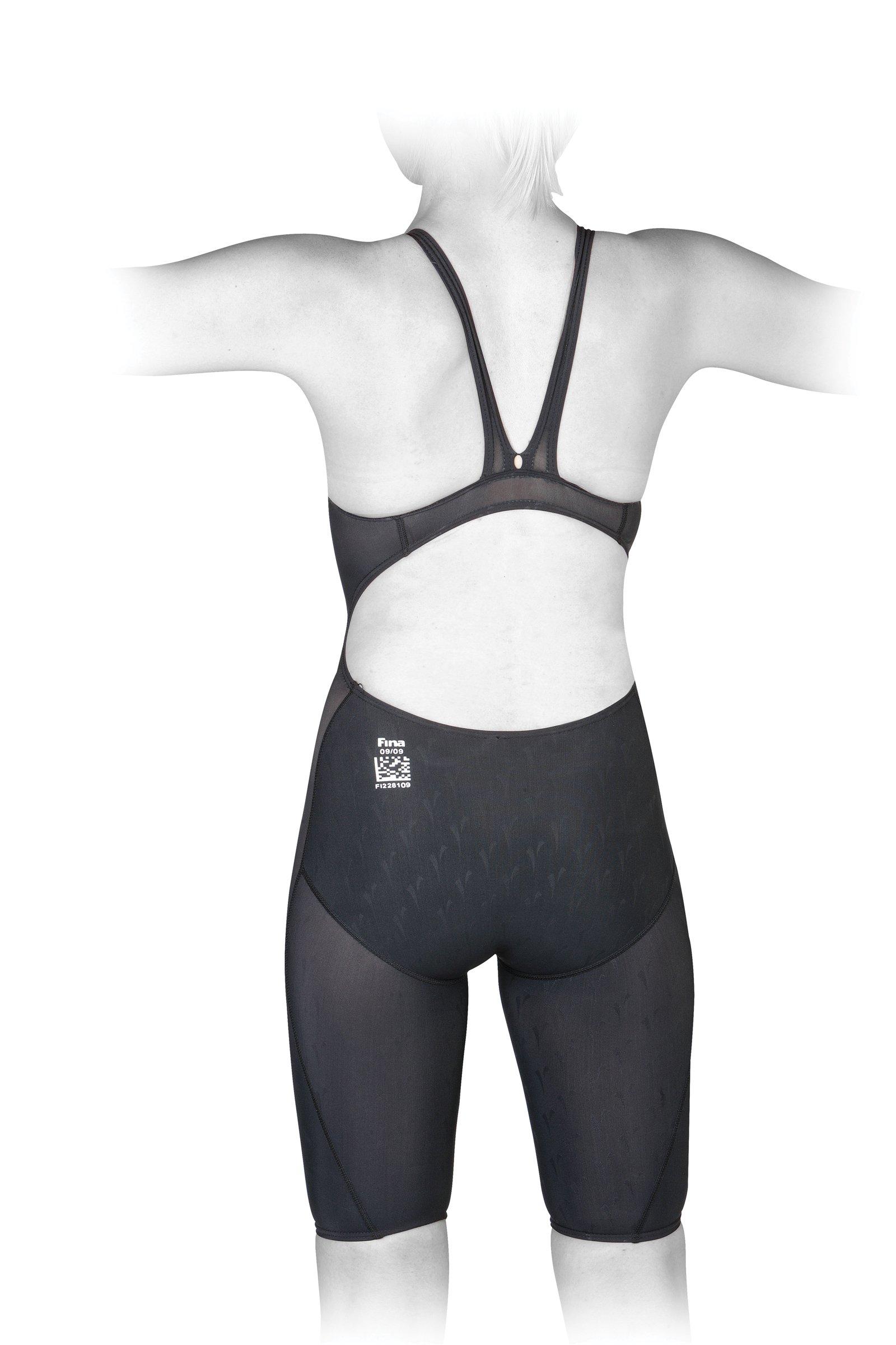 Finis Women's Hydrospeed 2 Race John Swimsuit (Black, 30) by FINIS (Image #2)