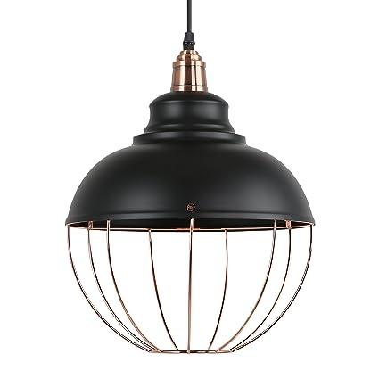 light society margritte pendant light matte black shade with copper