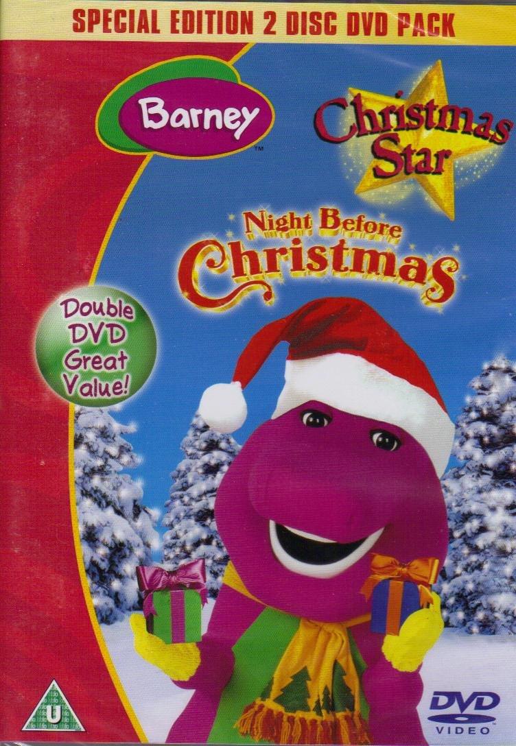 Barney: Night Before Christmas / Christmas Star DVD: Amazon.co.uk ...