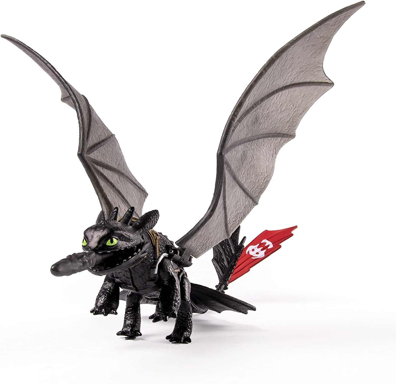 Amazon Com Dreamworks Dragons How To Train Your Dragon 2 Toothless Power Dragon Power Glow Toys Games