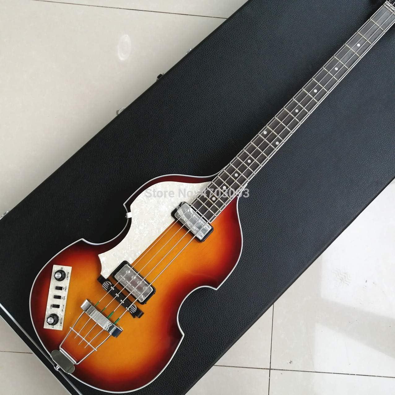 Guitarra eléctrica para bajo, 4 cuerdas, diapasón de palisandro ...