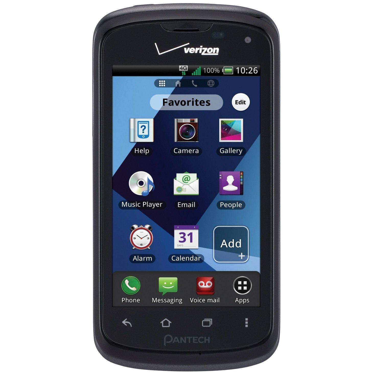amazon com pantech marauder 4g lte verizon android smart phone rh amazon com AT&T Pantech Renue Phone Manual Walmart Pantech Phone