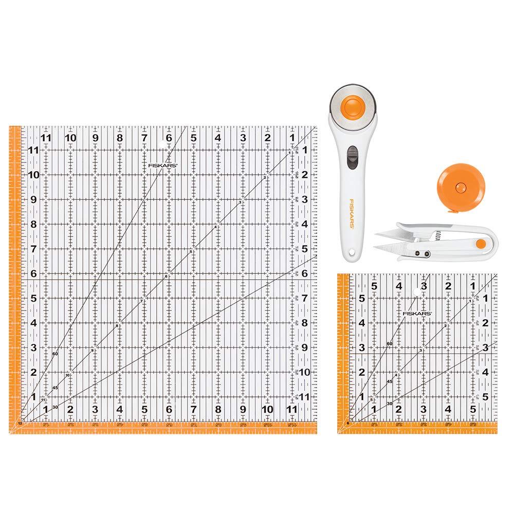 Kit de corte para costura Fiskars, 5 unidades
