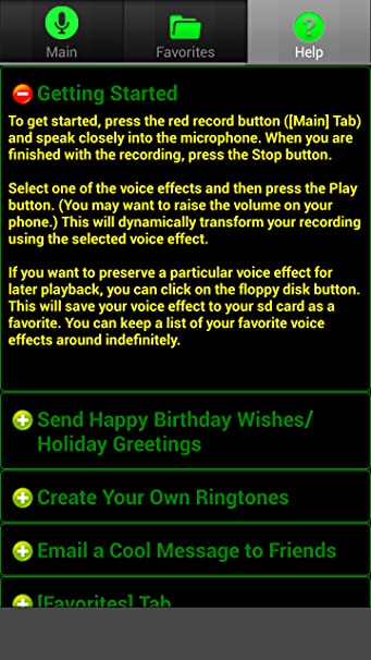 Amazon Ultra Voice Changer Appstore For Android