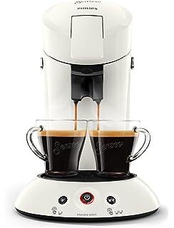 Philips Senseo Cappuccino Select - Cafetera monodosis, color negro ...