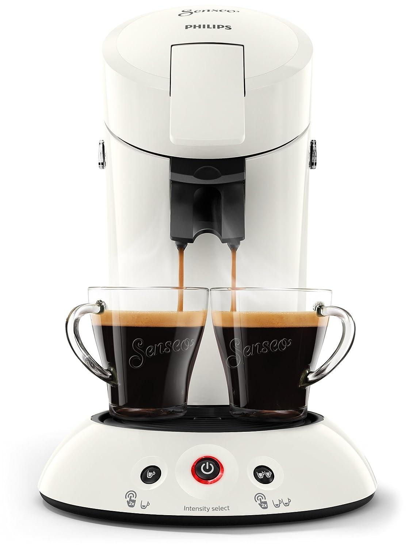 Philips Cafetera Senseo New Original, Elección de crema Plus, grosor de café, color negro Weiß: Amazon.es: Hogar