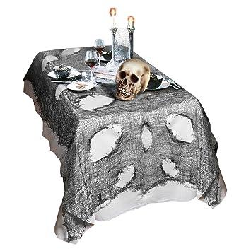 Chiffon déco halloween nappe décoration gothique tissu décoration de salle décoration halloween