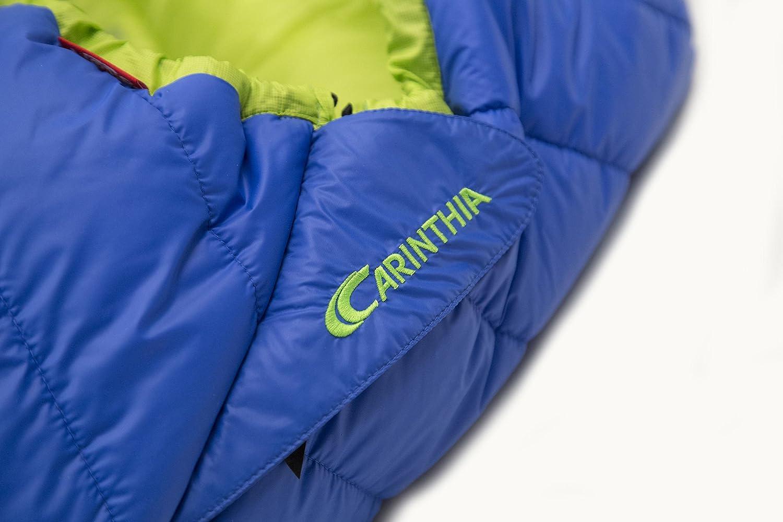 CARINTHIA G 180 - Sacos de Dormir - M Verde/Azul Modelo Derecha 2018: Amazon.es: Deportes y aire libre