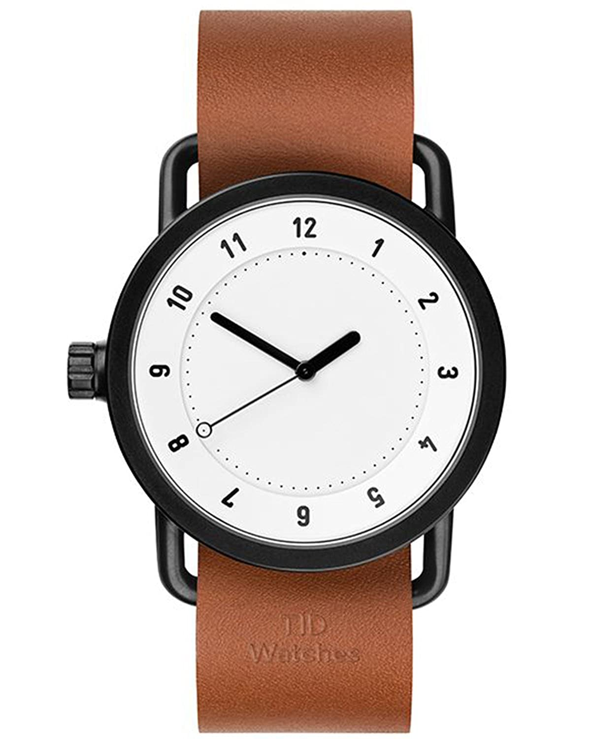 TID No.1 White-Tan Leather horloge 10110104