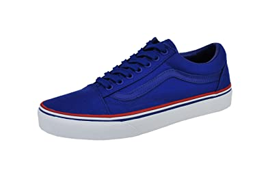 VANS Old Skool Unisex Shoes Solstice 2016 Royal Blue White Red Fashion Sneaker (