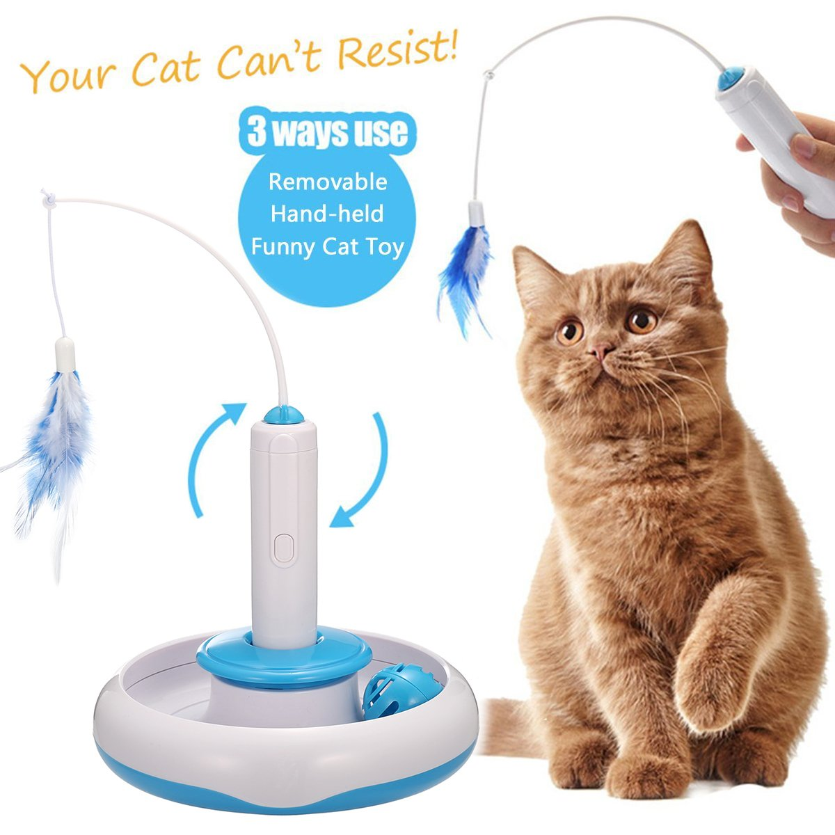 Federspielzeug für Katzen | Amazon.de Haustier
