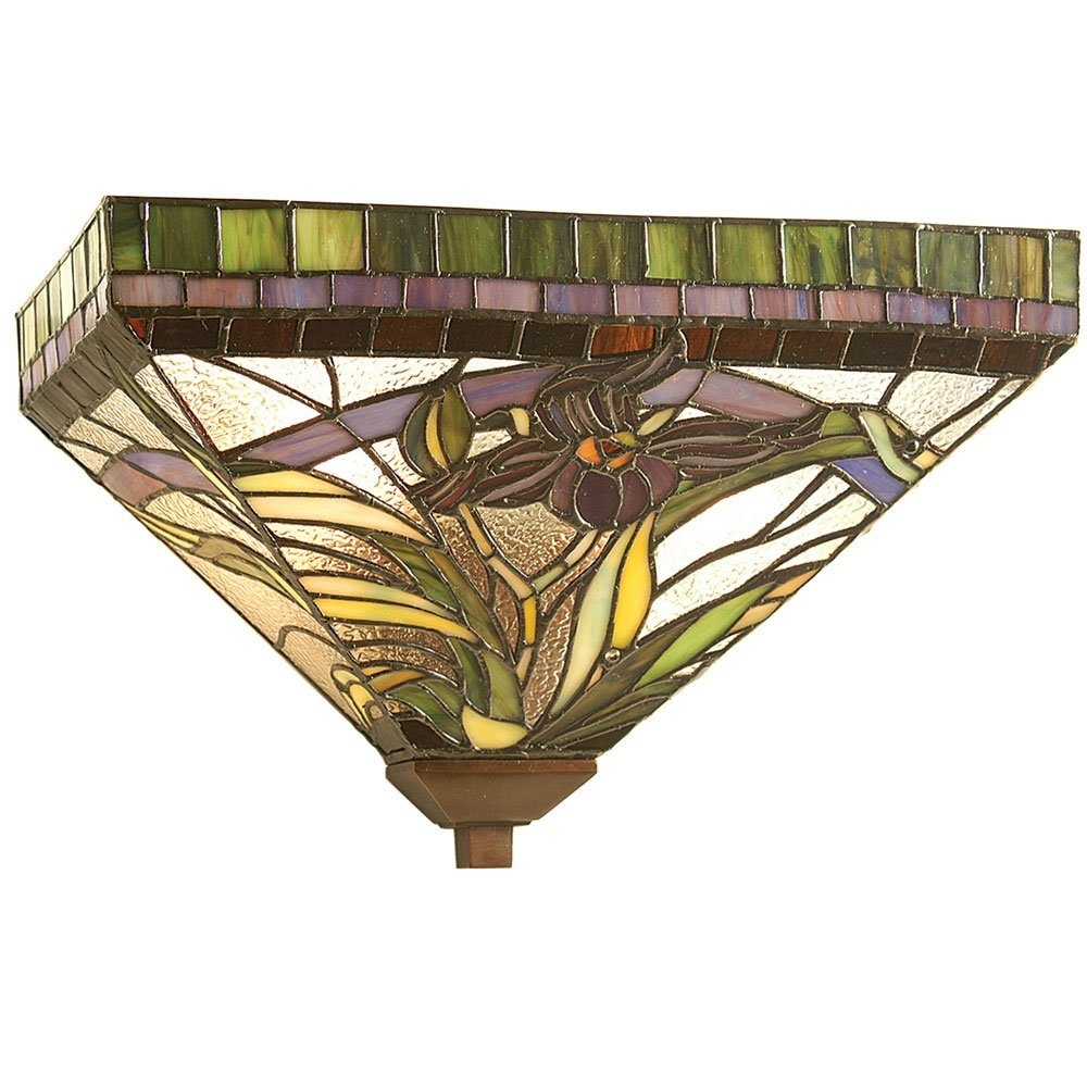 Meyda Tiffany 23777, 14''W Lady Slippers Wall Sconce by Meyda Tiffany