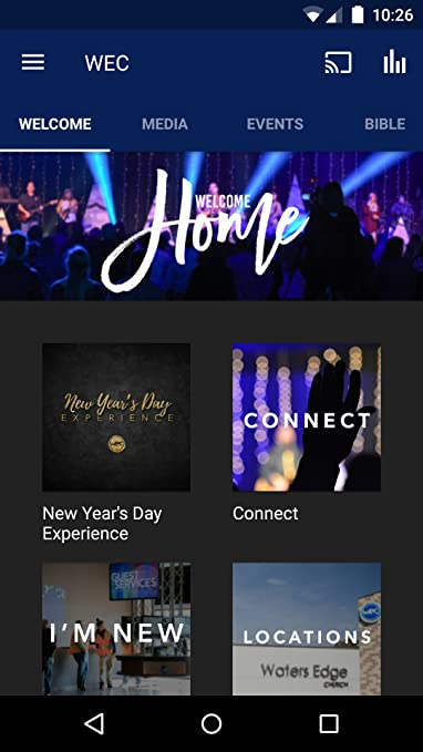amazoncom waters edge church appstore for android