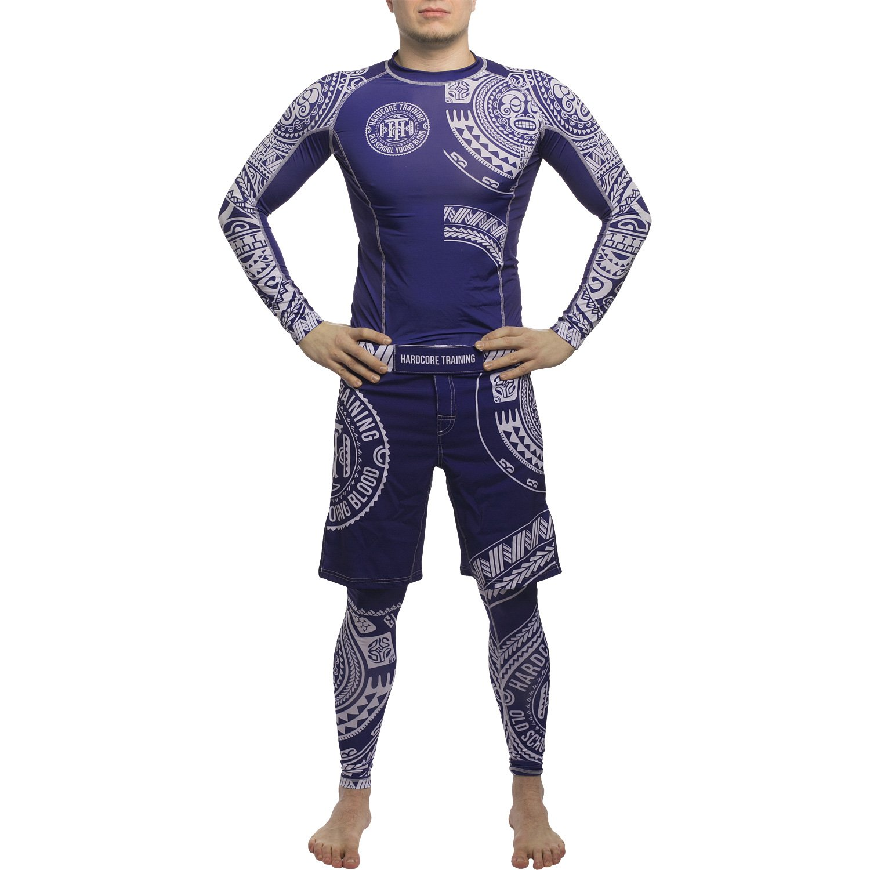 Kompressionshose Sporthosen Fitnesshosen Herren No-Gi BJJ MMA Fitness Crossfit Workout Gym Hardcore Training Compression Pants Mens TA Moko