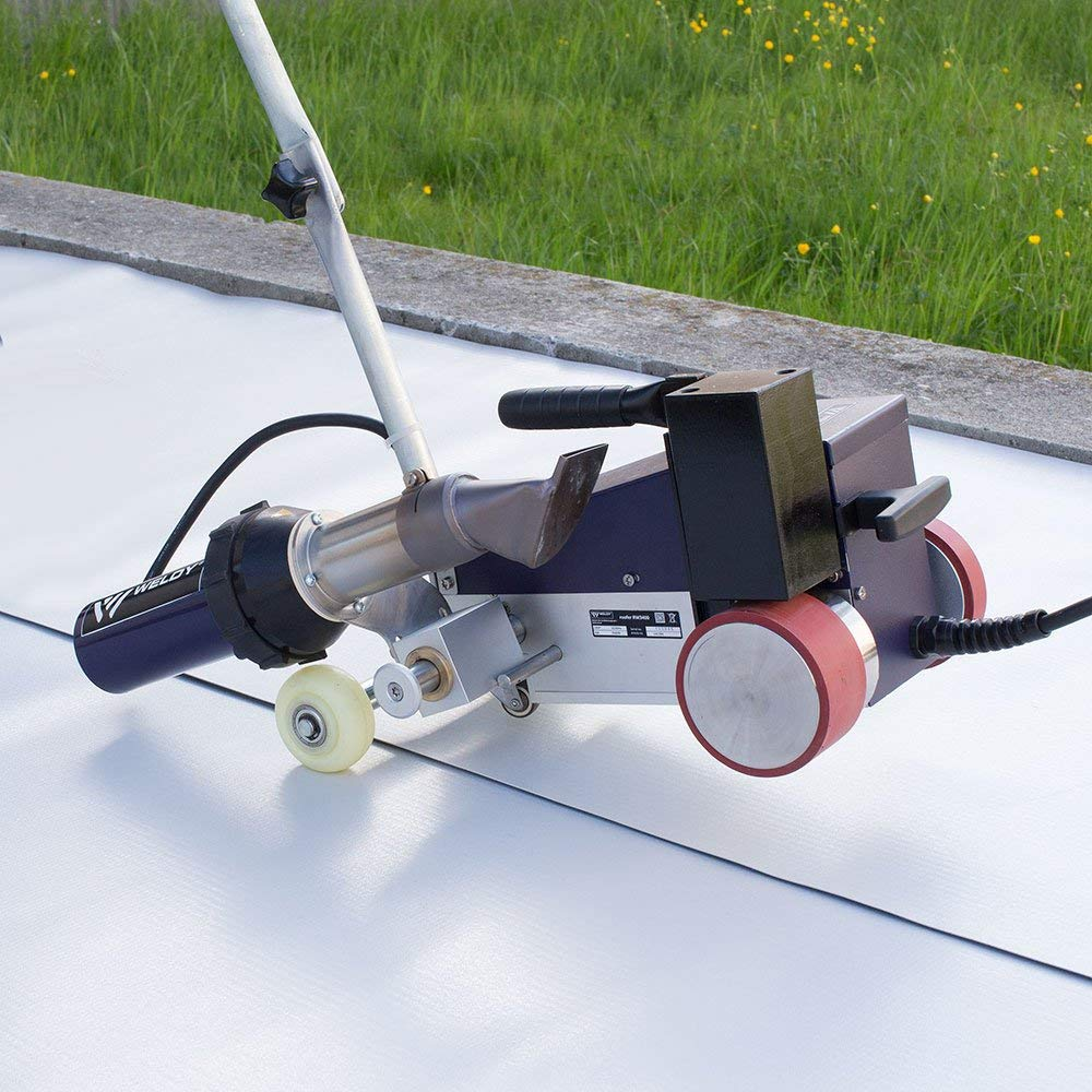 WELDY AC220V Roofer RW3400 Automatic Roofing Hot Air Welder with 40mm Overlap Nozzle Roofer RW3400