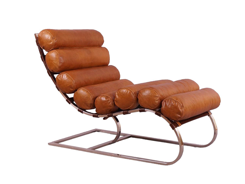 Metronom Relax-Liege Columbia Brown Leder Vintage Leder