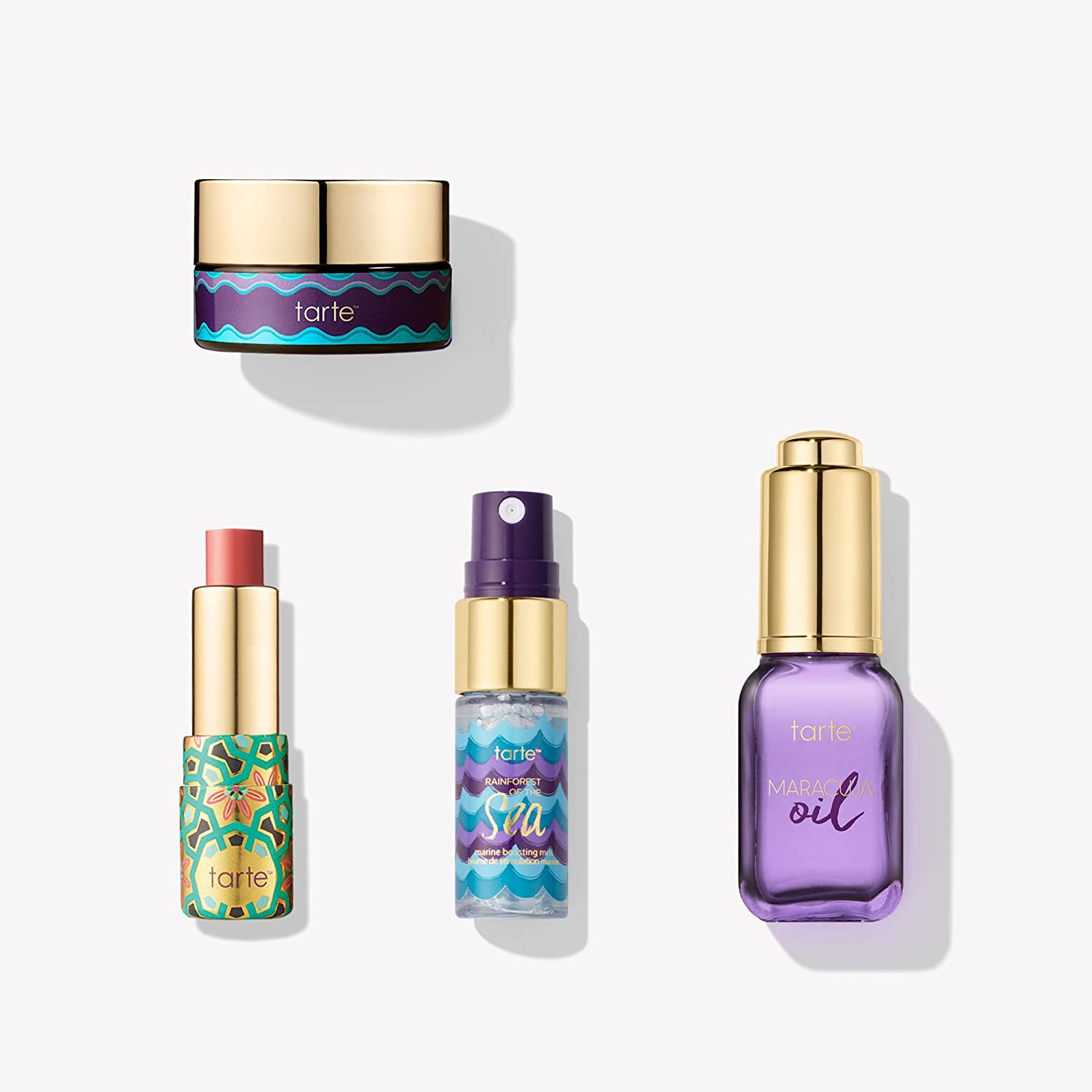 Tarte Cosmetics Skin Win Hydrating Skincare Travel Mini Set Limited Edition 4 Piece