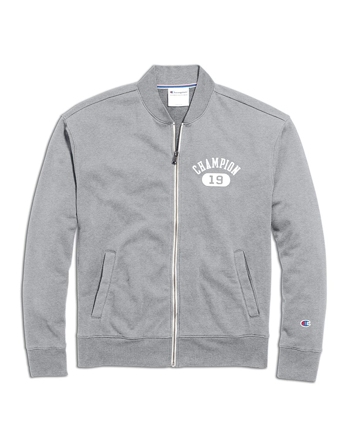 Champion Mens Heritage French Terry Warm-Up Jacket