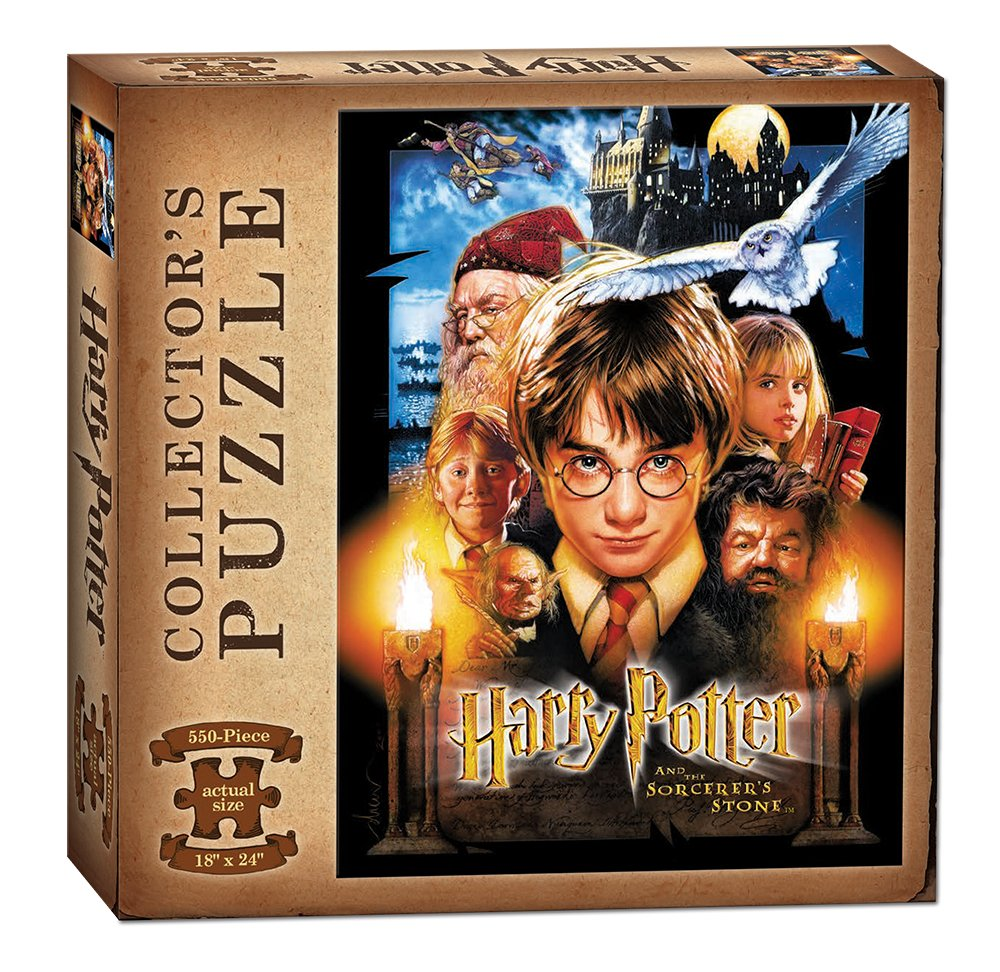 USAOPOLY Harry Potter and The Sorcerer's Stone Puzzle (550 Piece)