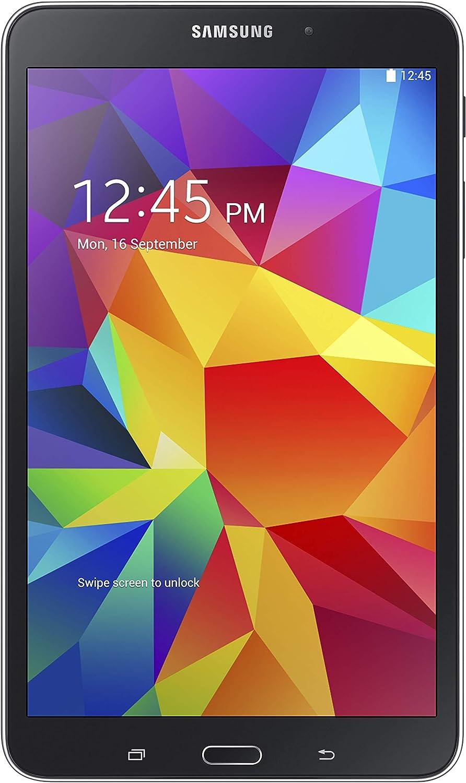 "Samsung Galaxy Tab 4 8"" Touchscreen WiFi + 4G LTE Verizon Tablet 16GB Dual Camera, Android OS - Black (Renewed)"