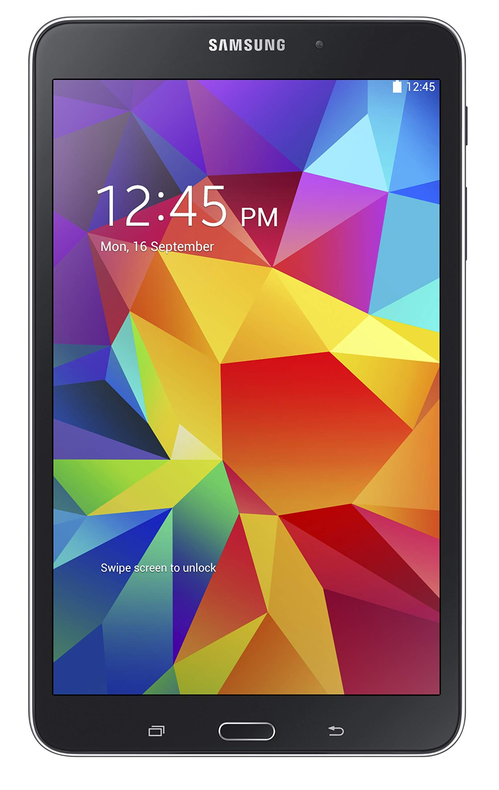 Samsung Galaxy Tab 4 8'' Touchscreen WiFi + 4G LTE Verizon Tablet 16GB Dual Camera, Android OS - Black (Renewed)