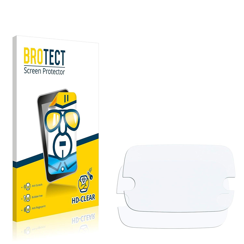 klare Displayschutz-Folie 2 St/ück BROTECT Schutzfolie kompatibel mit Uconnect 7.0 FIAT 500